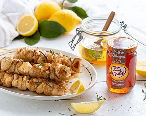 recette-marinade-miel-brochettes