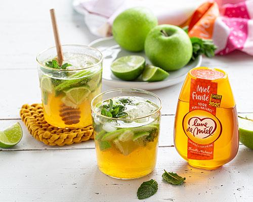 recette-virgin-mojito-miel-pomme