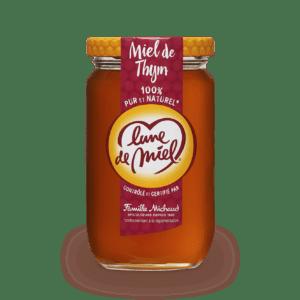 miel de thym pot en verre