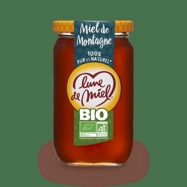 miel de montagne bio pot en verre