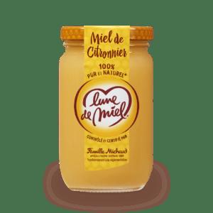 miel de citronnier pot en verre