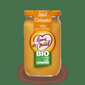 miel crémeux bio pot en verre