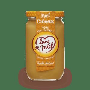 miel crémeux pot en verre
