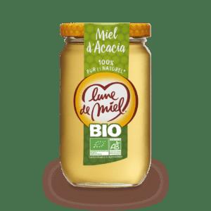 miel d'acacia bio pot en verre