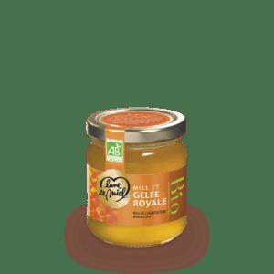 miel et gelée royale bio pot en verre
