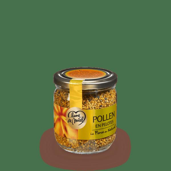 pollen pot en verre 250g