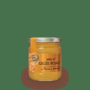 miel et gelée royale pot en verre